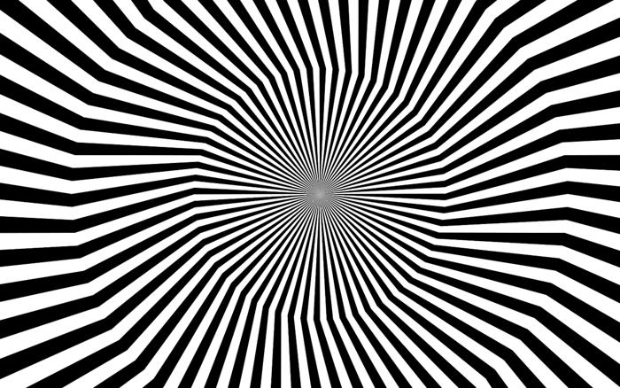 Psychological Concentration Test: an Optical Illusion