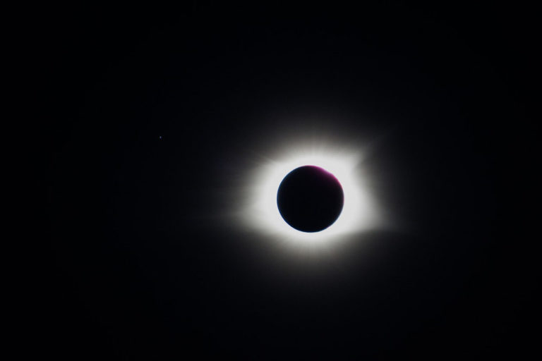 Total Solar Eclipse in November 2012: a Unique Astronomical Event
