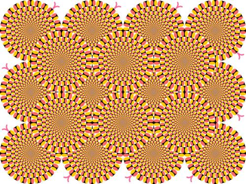 optical ilusion motion