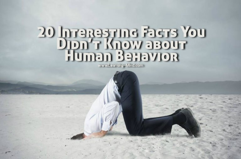 20 Interesting Facts You Didn't Know about Human Behavior