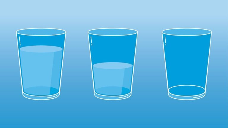 Psychological Test: Do You See the Glass Half-Empty or Half-Full?