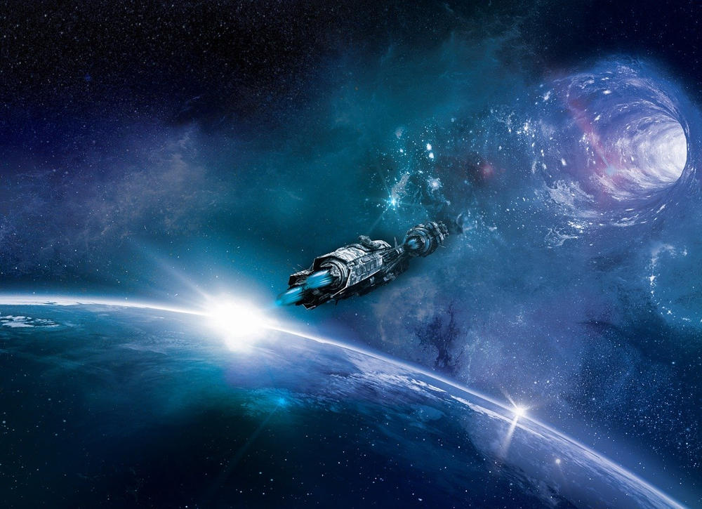 wormhole time travel might be possible