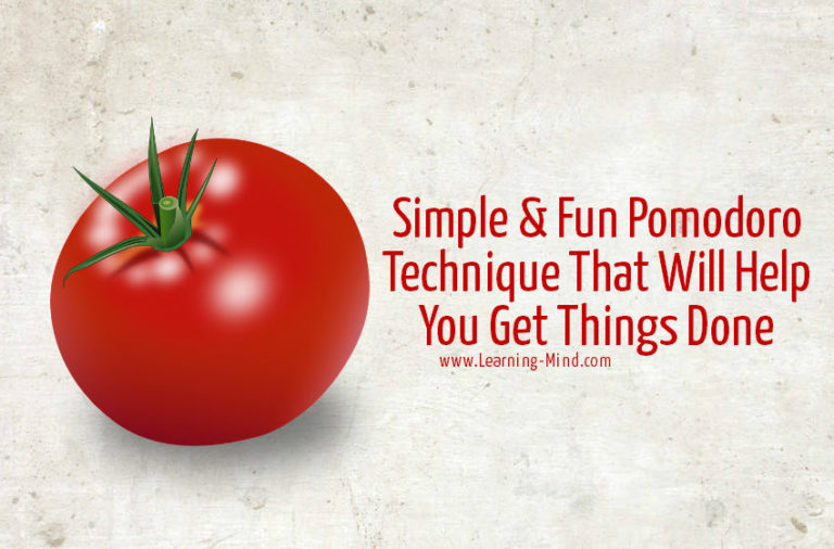 Simple & Fun Pomodoro Technique That Will Help You Get Things Done