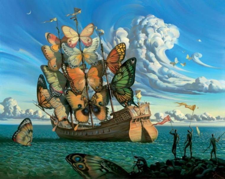 Incredible Surreal Paintings by Vladimir Kush Incredible-Surreal-Paintings-by-Vladimir-Kush1