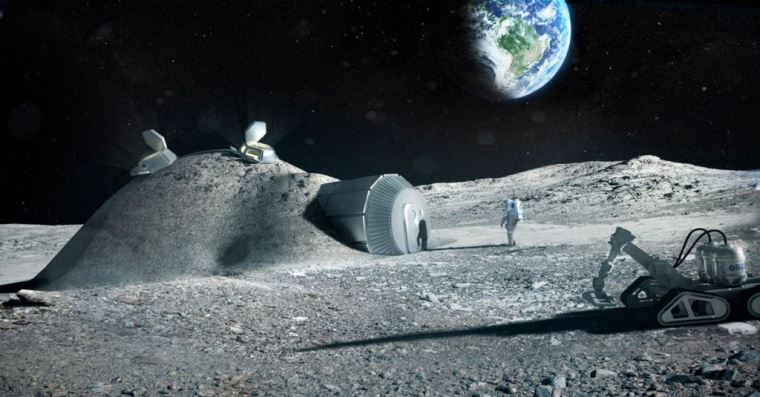Lunar Lava Tubes Might Be Able to House Human Populations, Says New Study
