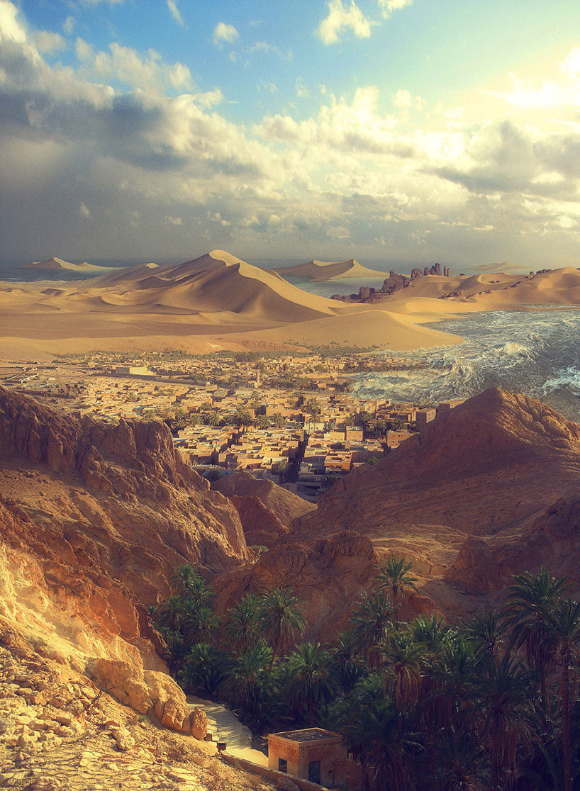 future look of the world desert