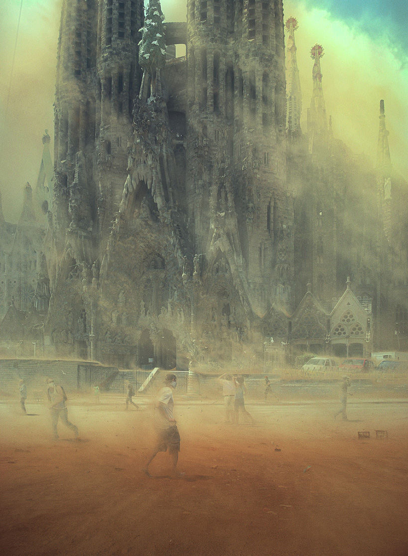 future look of the world sagrada familia