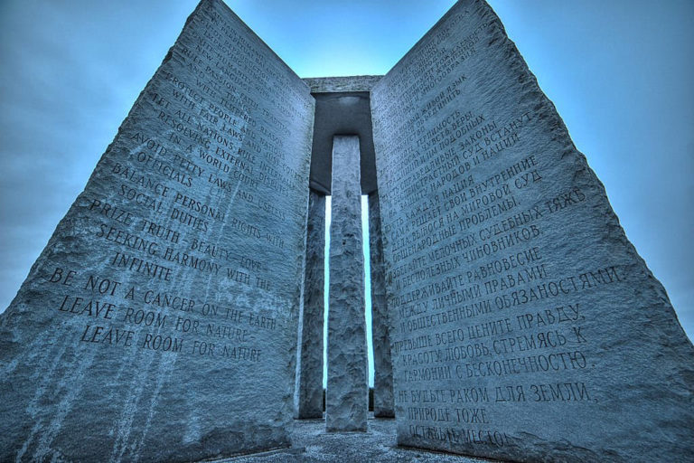 Georgia Guidestones: a Mysterious Monument That Warns Humanity with a Post-Apocalyptic Message
