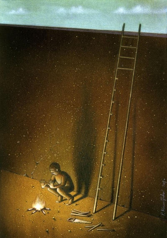 Pawel Kuczynski stairs