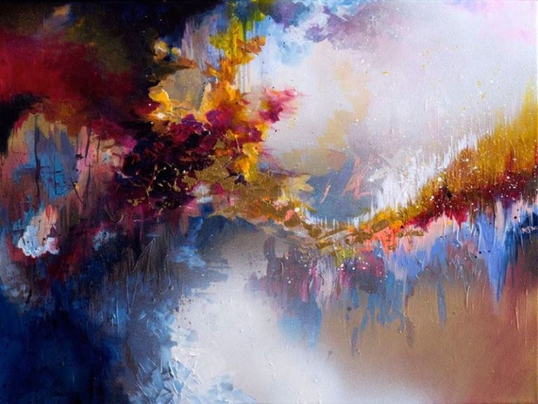 Artist with Synesthesia Can See Music So She Paints What Famous Songs Look Like