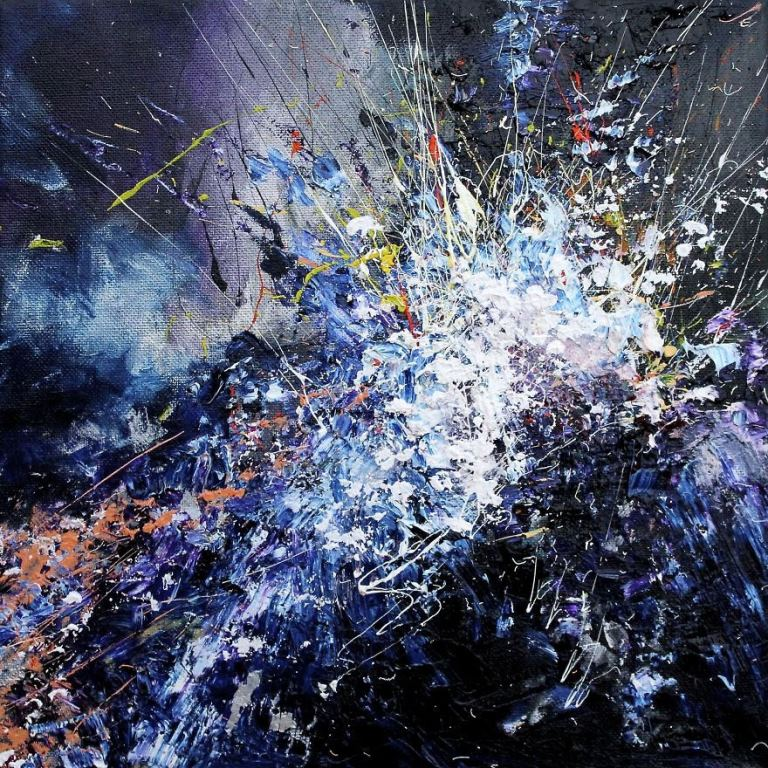 artist with synesthesia joy in repetition