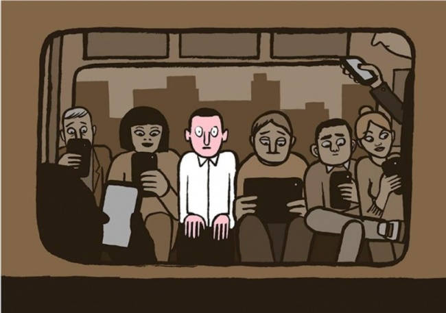 Powerful Illustrations by Jean Jullien Show the Ugly Truth about Modern Life