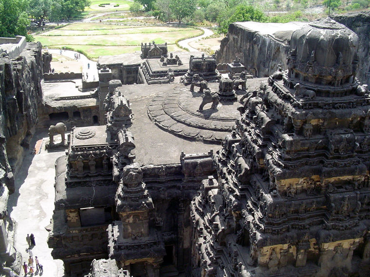 1200-Year-Old Kailasa Temple Is Carved Entirely from a Single Rock
