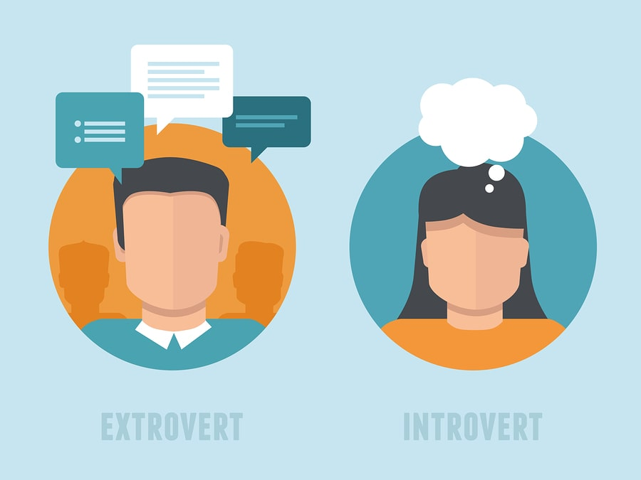 Differences Between Introverts and Extroverts