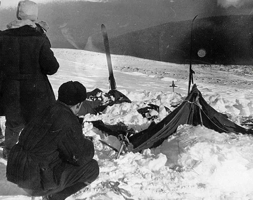 dyatlov pass mystery tent