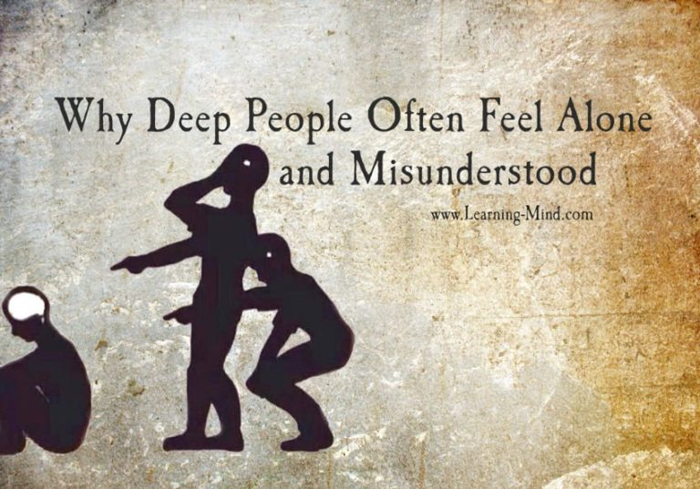Why Deep People Often Feel Alone and Misunderstood (and What They Can Do about It)