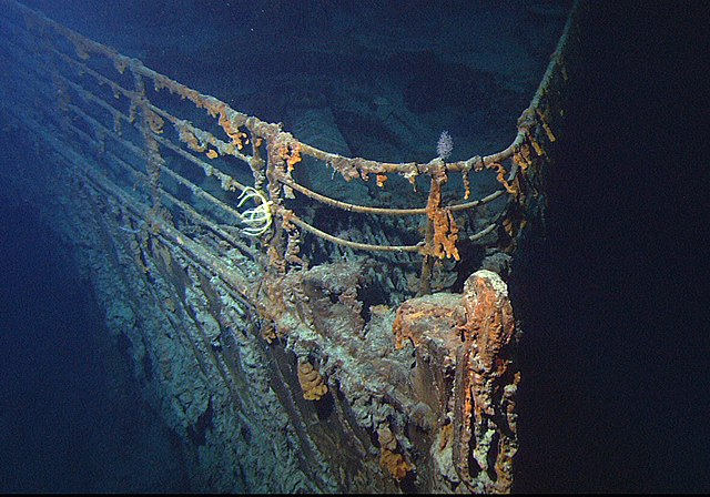 titanic underwater discoveries