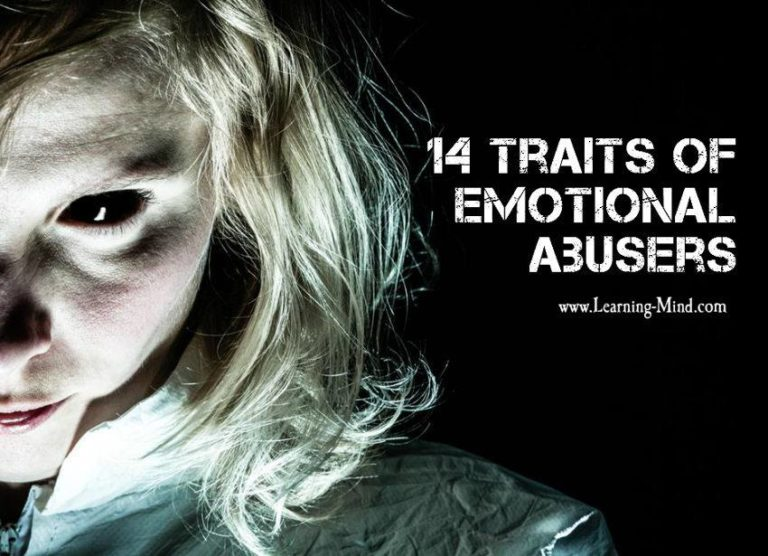 14 Traits of Emotional Abusers