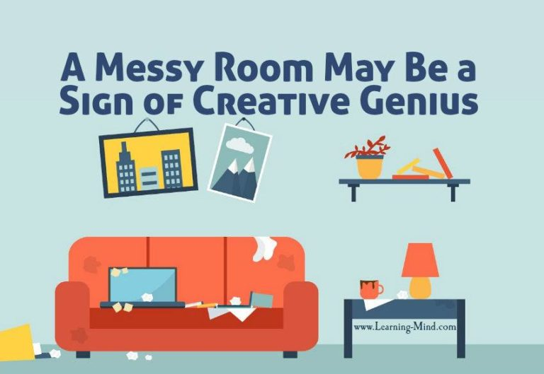 A Messy Room May Be a Sign of Creative Genius