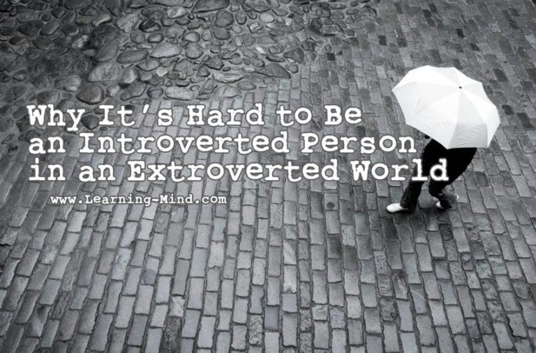 Why It's Hard to Be an Introverted Person in an Extroverted World