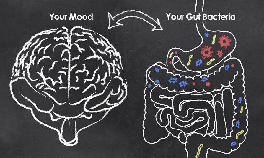 cause of depression gut
