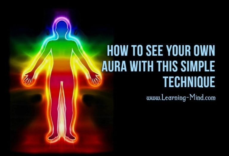 How to See Your Own Aura with This Simple Technique