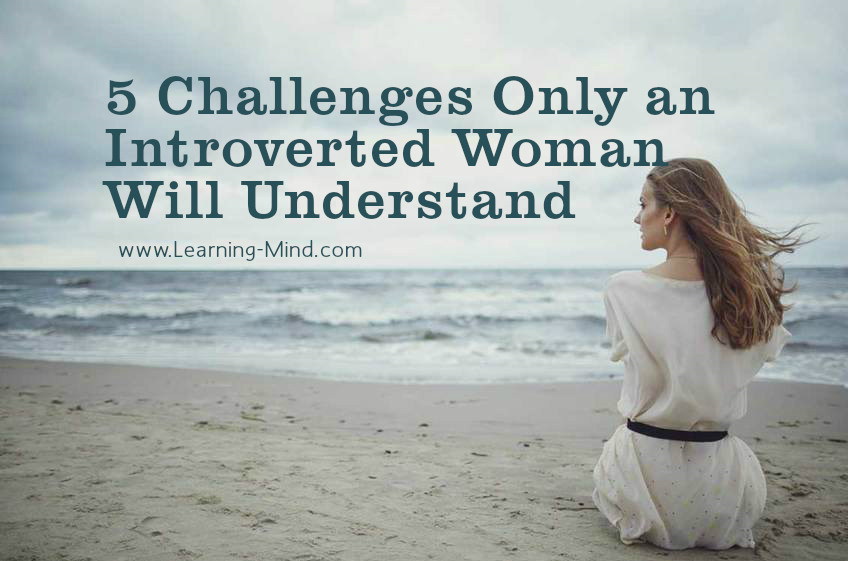 introverted woman challenges