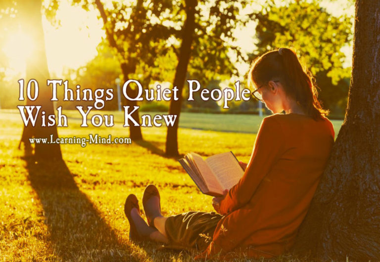 10 Things Quiet People Wish You Knew