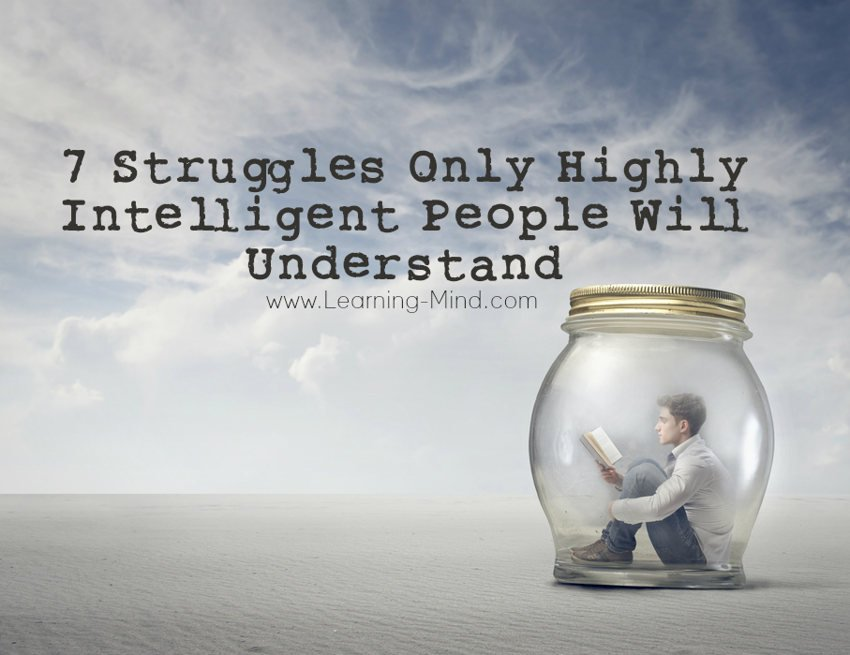 highly intelligent people struggles