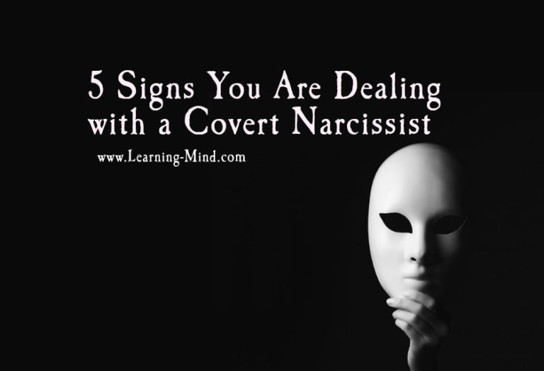 5 Signs You Are Dealing with a Covert Narcissist