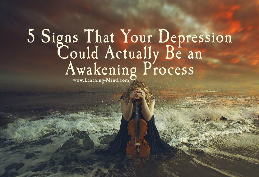 awakening process depression
