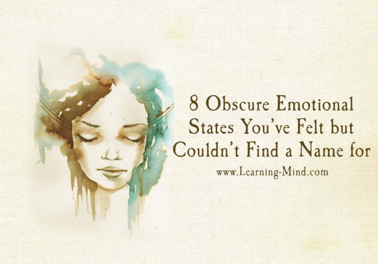 8 Obscure Emotional States You've Felt but Couldn't Find a Name for