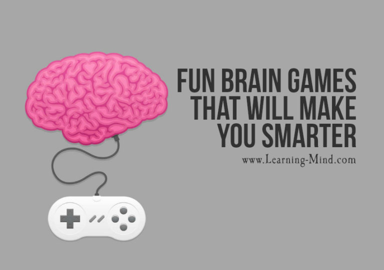 Fun Brain Games That Will Make You Smarter