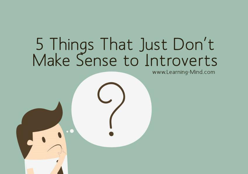 make sense to introverts