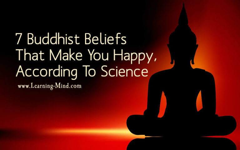 7 Buddhist Beliefs That Make You Happy, According to Science