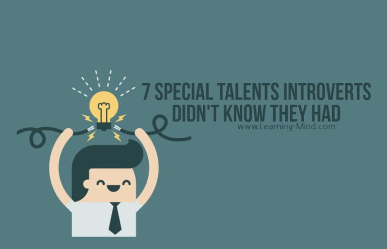 7 Special Talents Introverts Didn't Know They Had