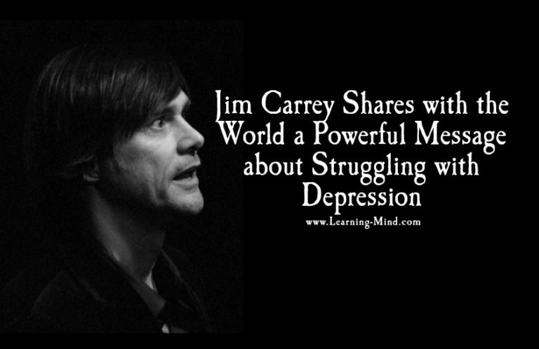Struggling with Depression: Jim Carrey Shares a Powerful Message with the World