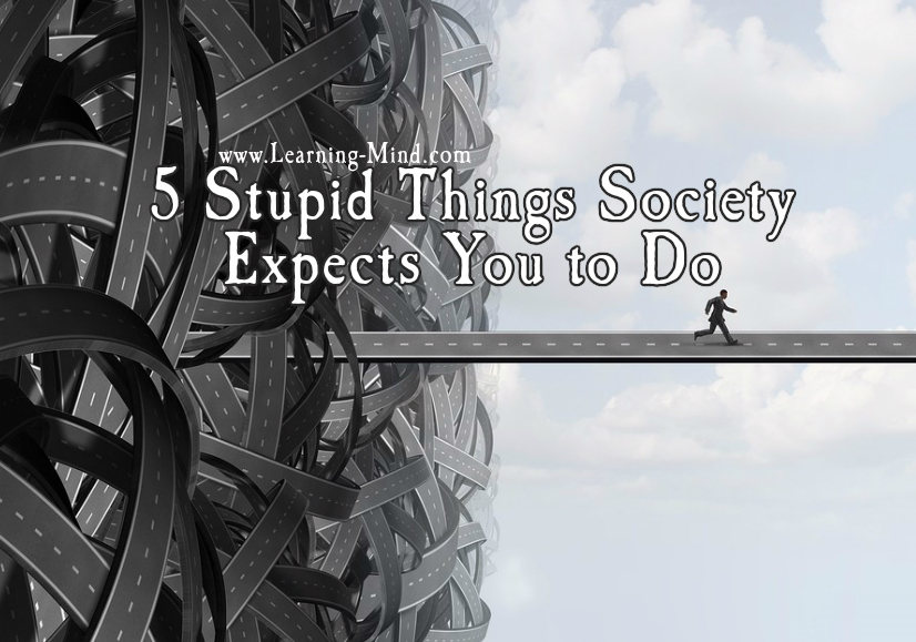 stupid things society