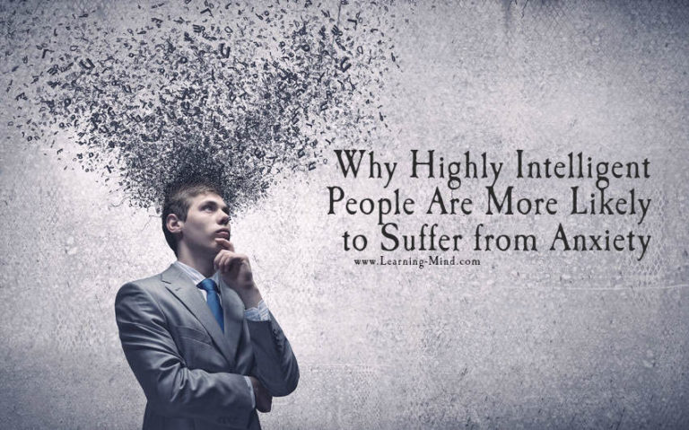 Anxiety Issues Are More Common in Highly Intelligent People, Studies Reveal