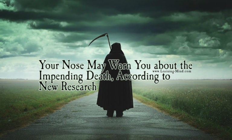 Your Nose May Warn You about the Impending Death, According to New Research