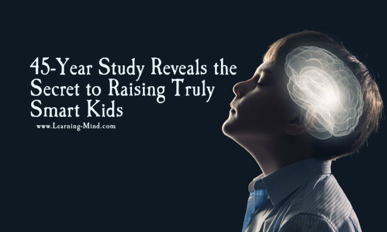 This Is the Secret to Raising Smart Kids, According to a 45-Year Study