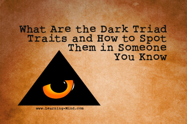 What Are the Dark Triad Traits and How to Spot Them in Someone You Know