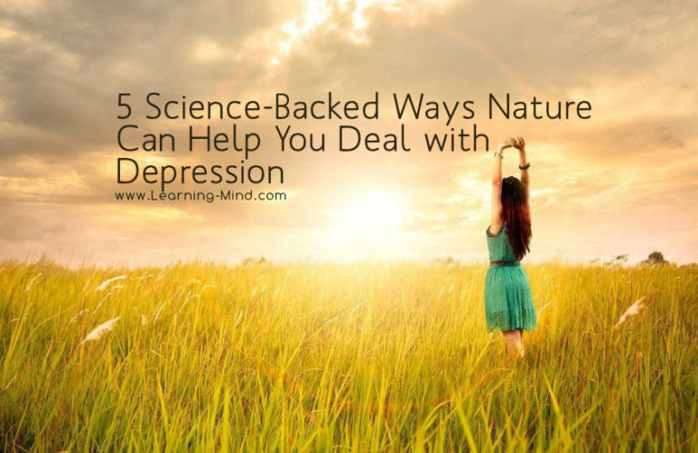 5 Science-Backed Ways to Deal with Depression Using the Power of Nature