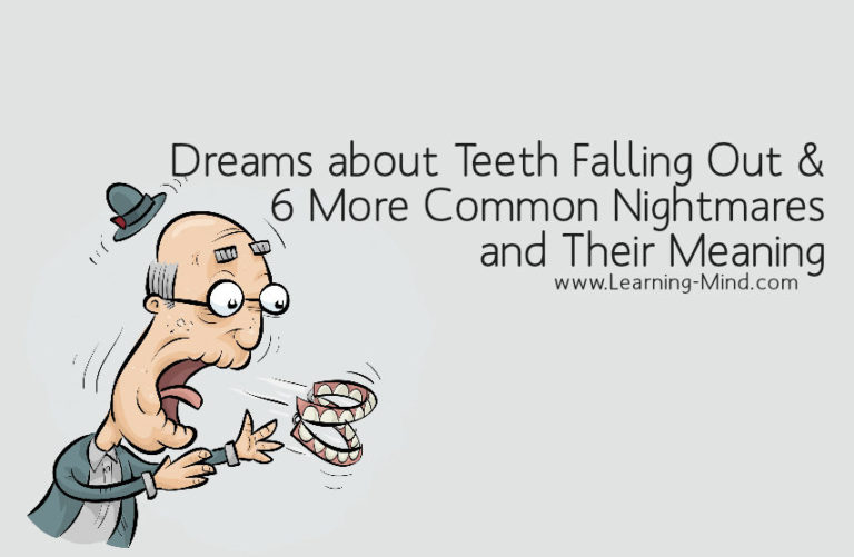 Dreams about Teeth Falling Out and 6 More Common Nightmares and Their Meaning