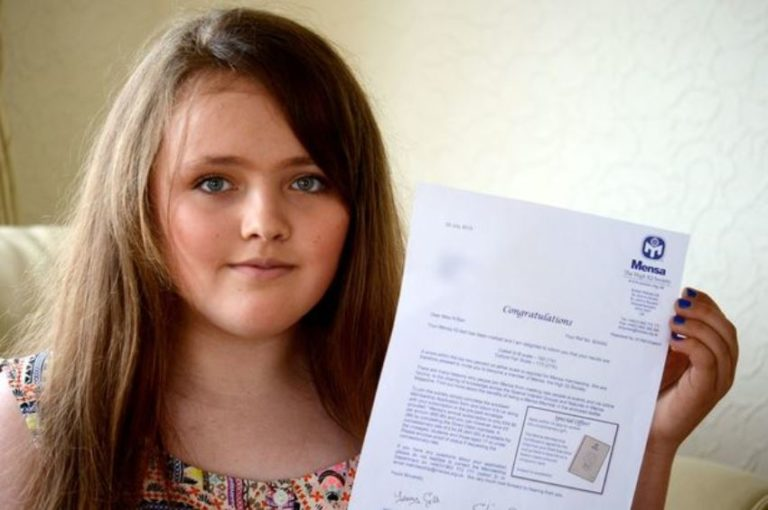 This 12-Year-Old Girl Has a Higher IQ Score Than Stephen Hawking and Albert Einstein