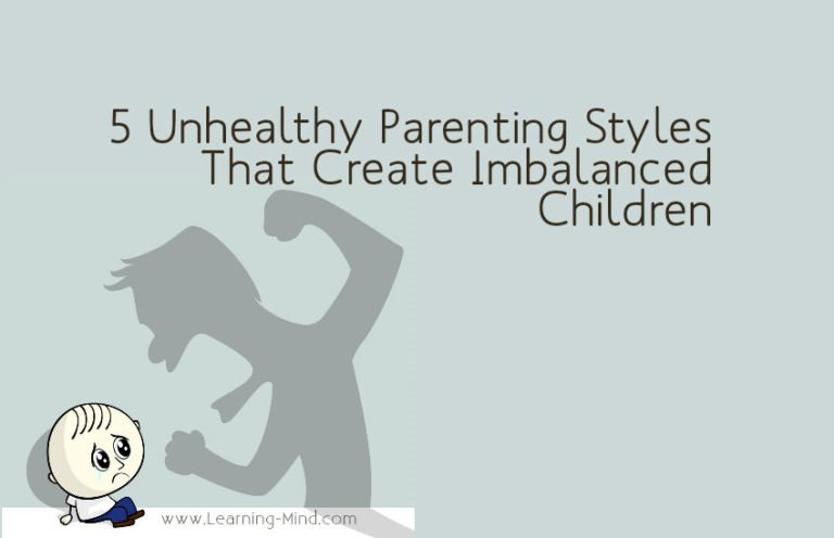 5 Unhealthy Parenting Styles That Create Imbalanced Children