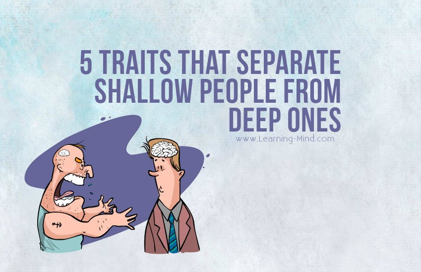 shallow people