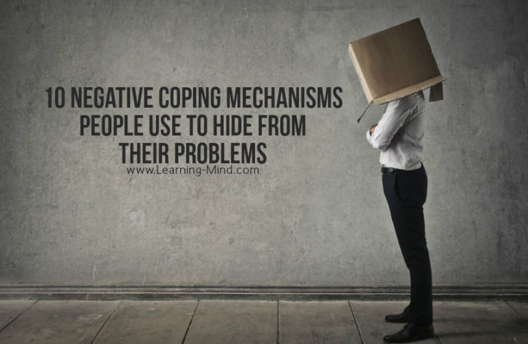 10 Negative Coping Mechanisms People Use to Hide from Their Problems