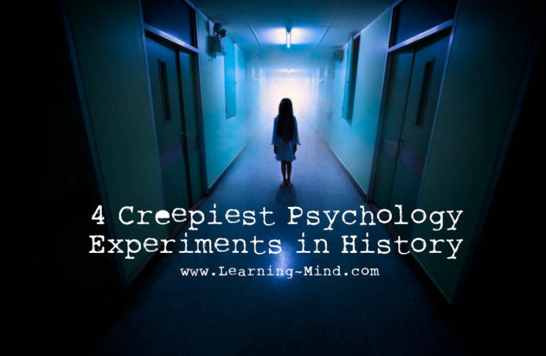 4 Creepiest Psychology Experiments in History