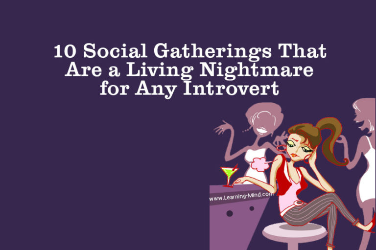 10 Social Gatherings That Are a Living Nightmare for Any Introvert